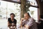 AMJ & Graham Mackintosh, Maggie McFly's, Santa Barbara, August 1979 (Photo by Shelly Vogel)