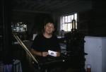 Ian Mortimer at I.M. Imprimit, Hackney, London, 1993